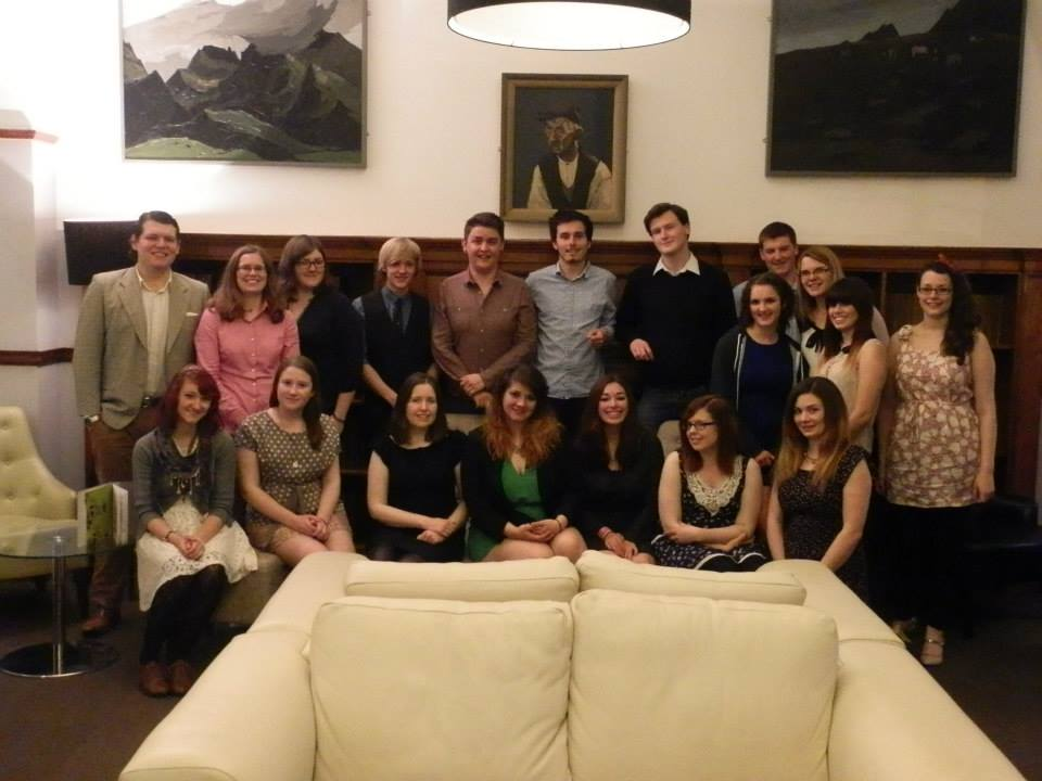MuSoc Committee Crossover Meal 2013.