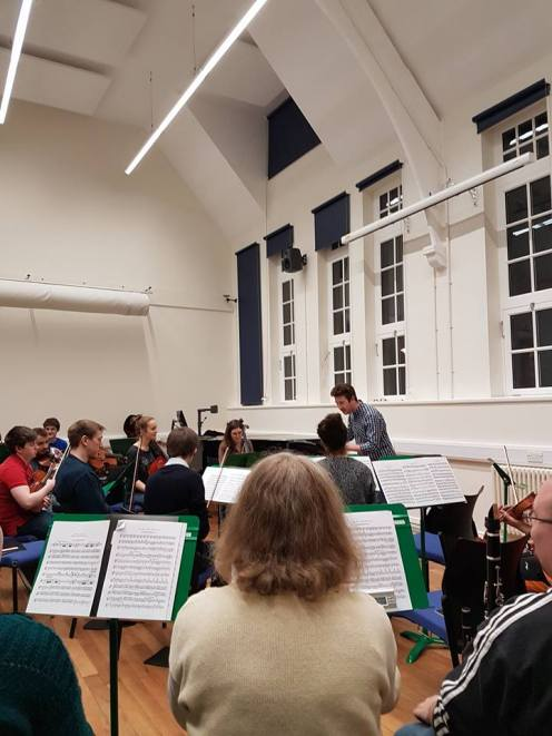 MuSoc Orchestra 2017, conducted by Ian Maynard