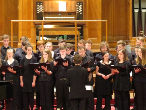 MuSoc Choir 2017, conducted by James Jarvis