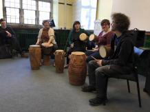 Ghanaian drumming
