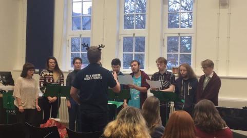 Second year choir