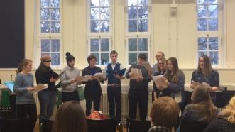 First year choir